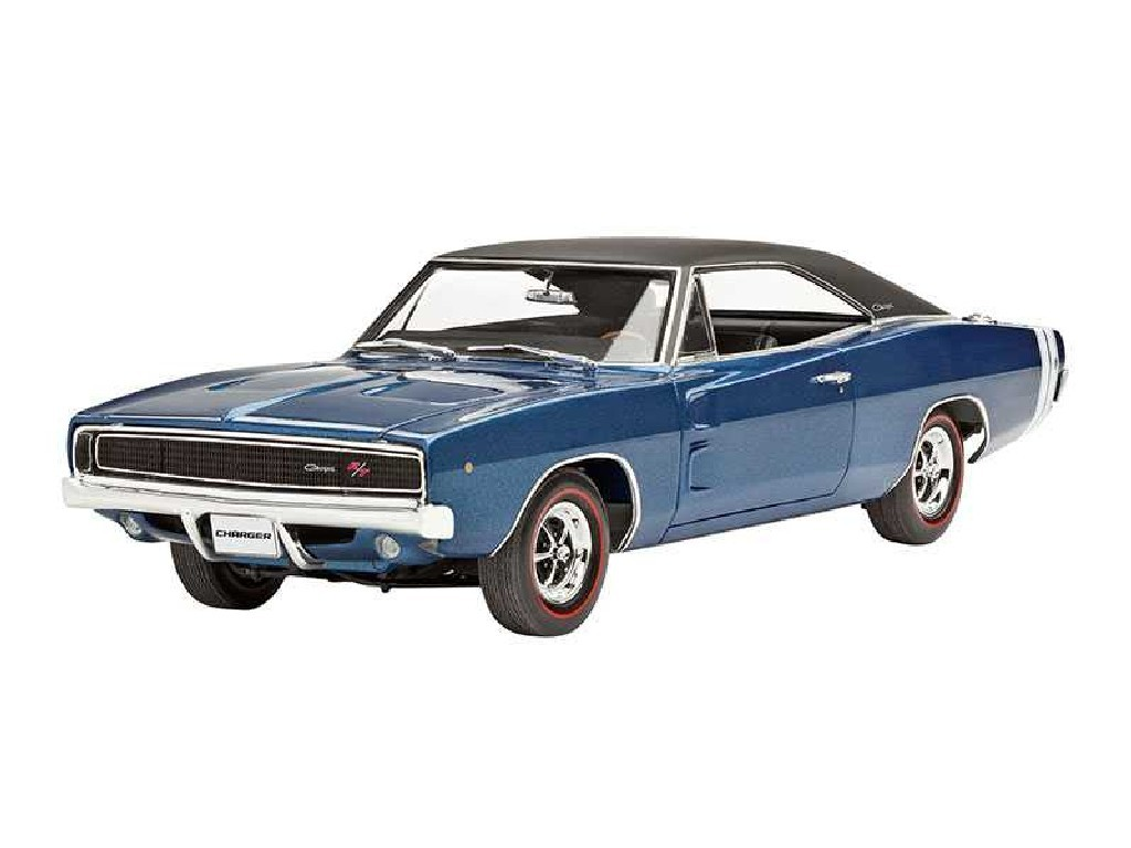 1/25 Plastikový model - auto 07188 - 1968 Dodge Charger R/T
