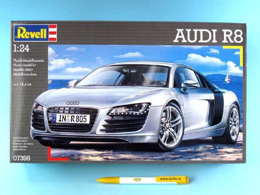 1/24 Plastikový model - auto 07398 - Audi R8