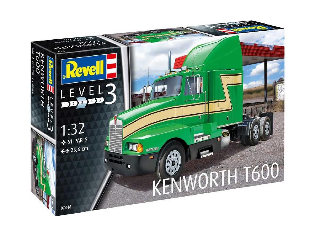 1/32 Plastikový model - auto 07446 - Kenworth T600