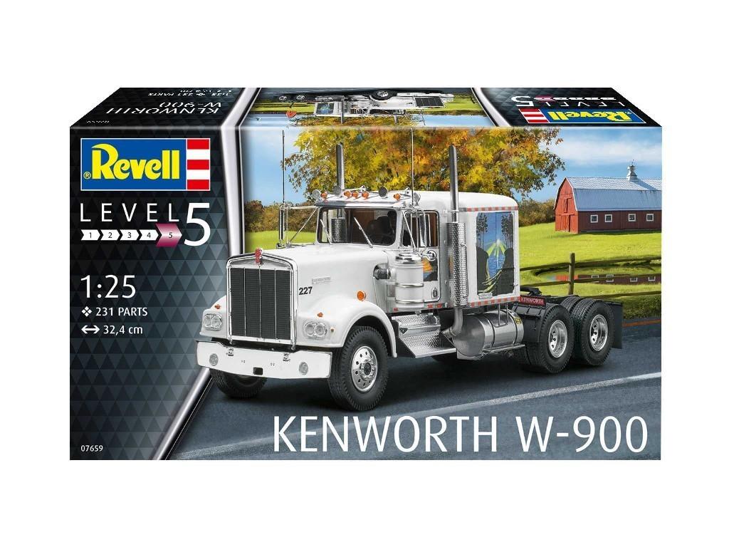 1/25 Plastikový model - auto 07659 - Kenworth W-900