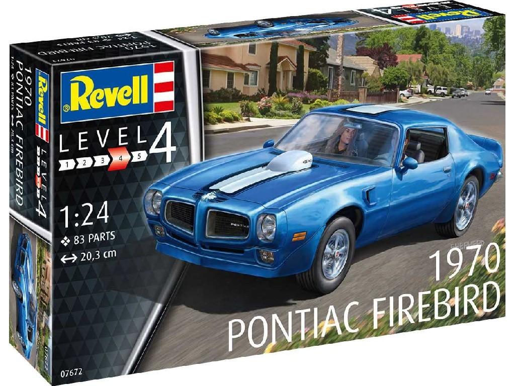 Revell - auto 07672 - 1970 Pontiac Firebird 1:25