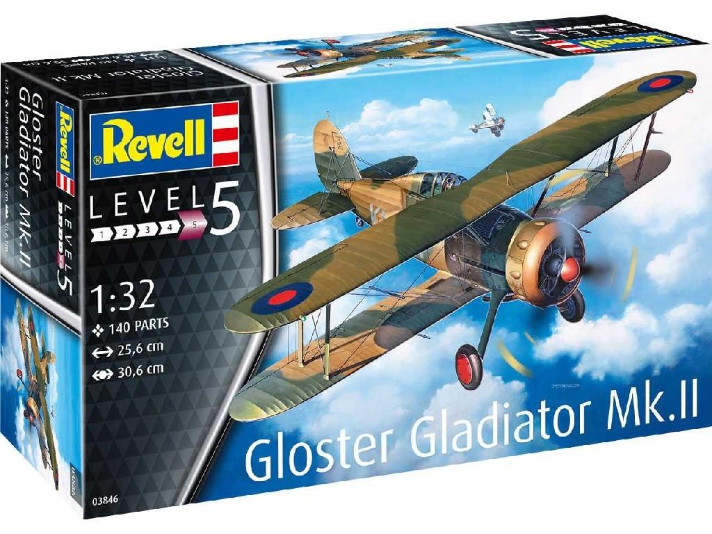 Revell - 03846 - Gloster Gladiator Mk. II 1:32