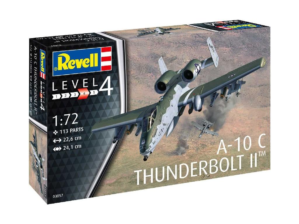 1/72 Plastikový model - letadlo 03857 - A-10C Thunderbolt II