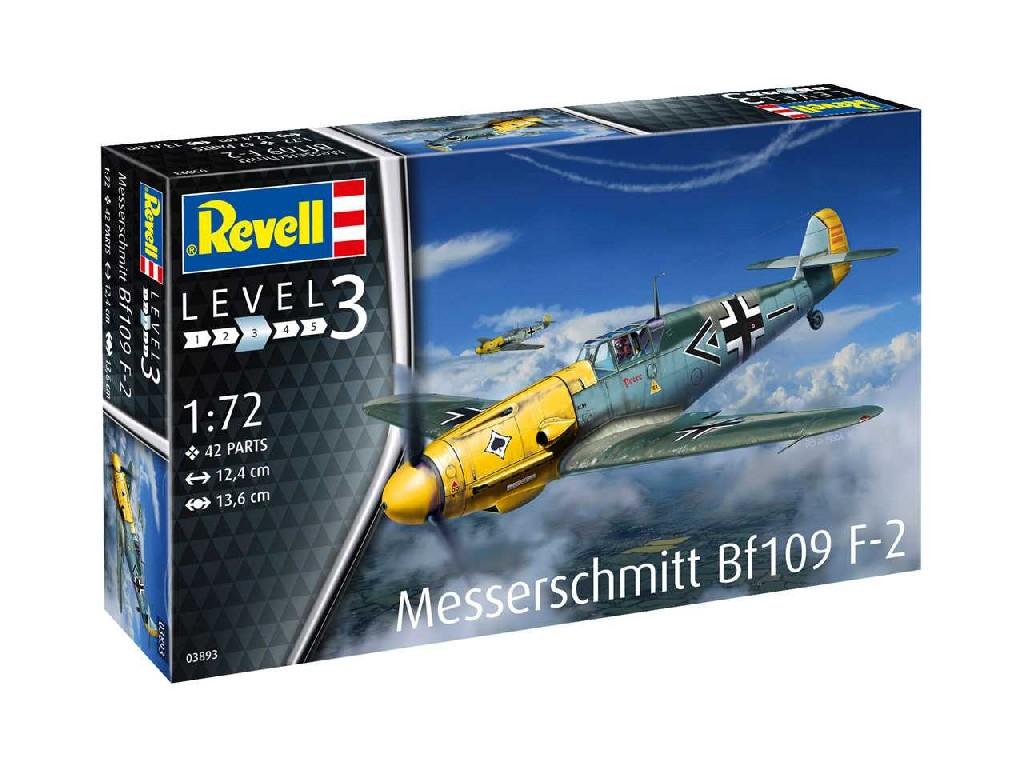 1/72 Plastikový model - lietadlo 03893 - Messerschmitt Bf109 F-2