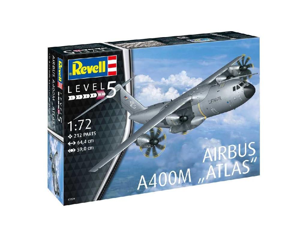 1/72 Plastikový model - letadlo 03929 - Airbus A400M ATLAS