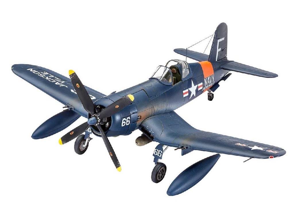 1/72 Plastikový model - lietadlo 03955 - F4U-4 Corsair