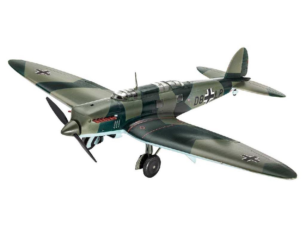 1/72 Plastikový model - lietadlo 03962 - Henschel He70 F-2