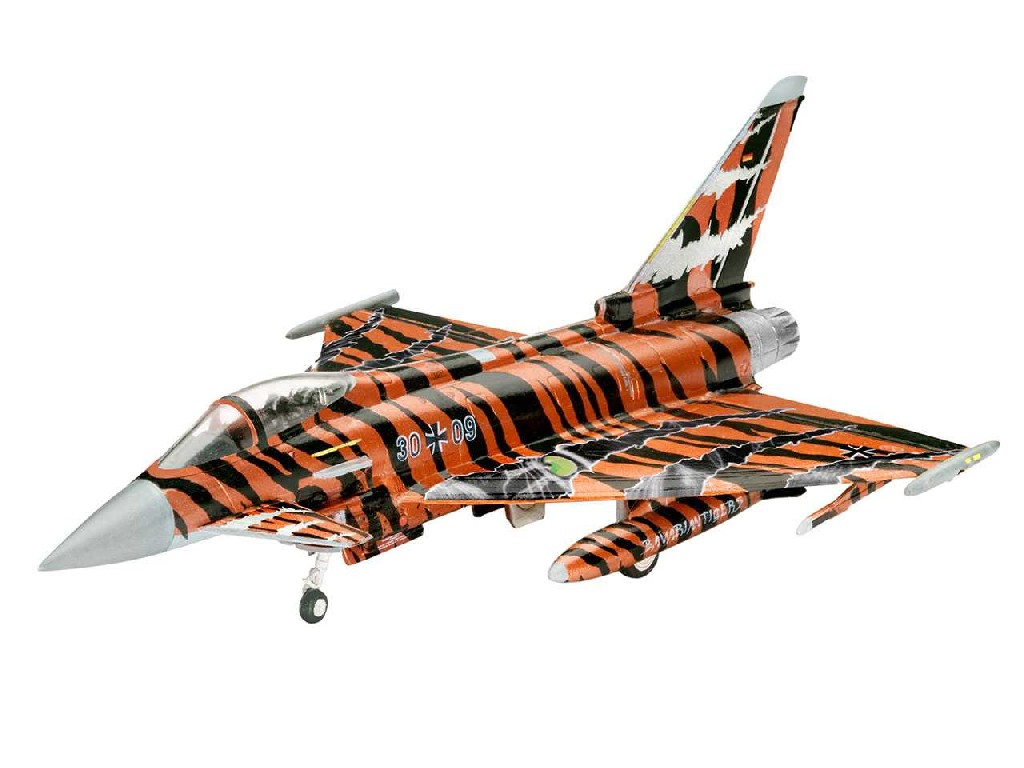 1/144 Plastikový model - lietadlo 03970 - Eurofighter Bronze Tiger