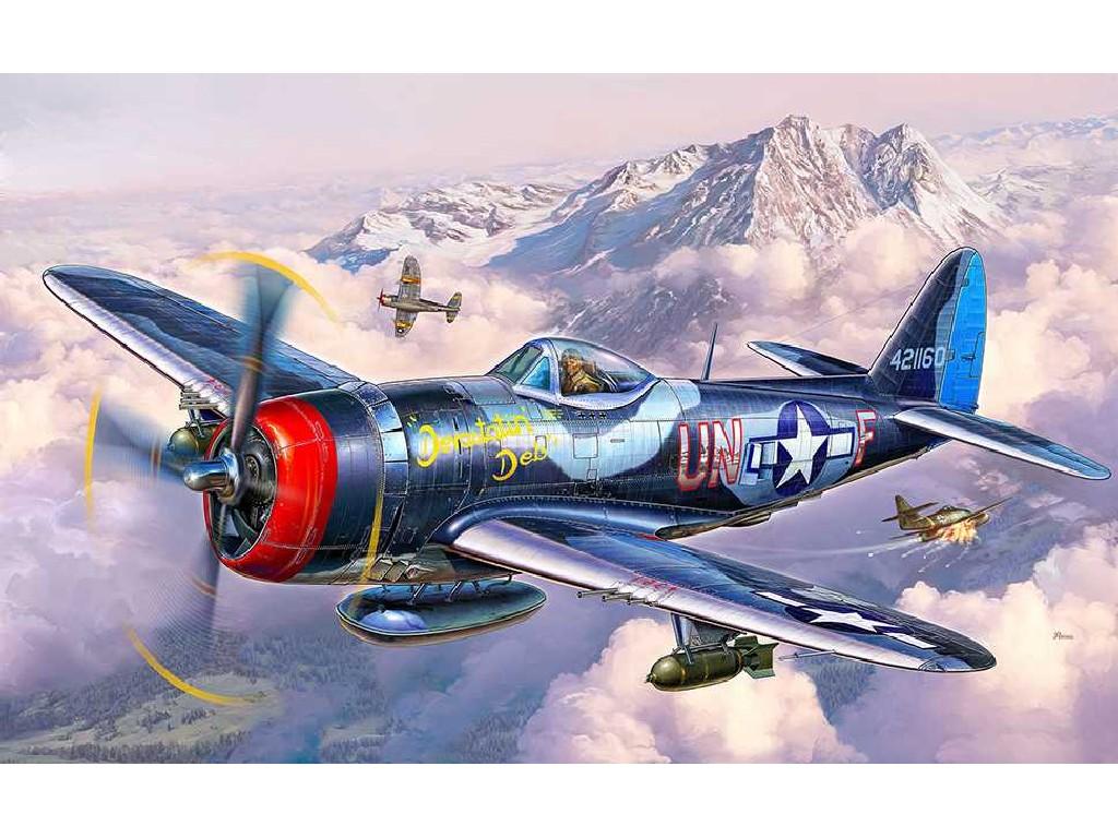 1/72 Plastikový model - lietadlo 03984 - P-47 M Thunderbolt