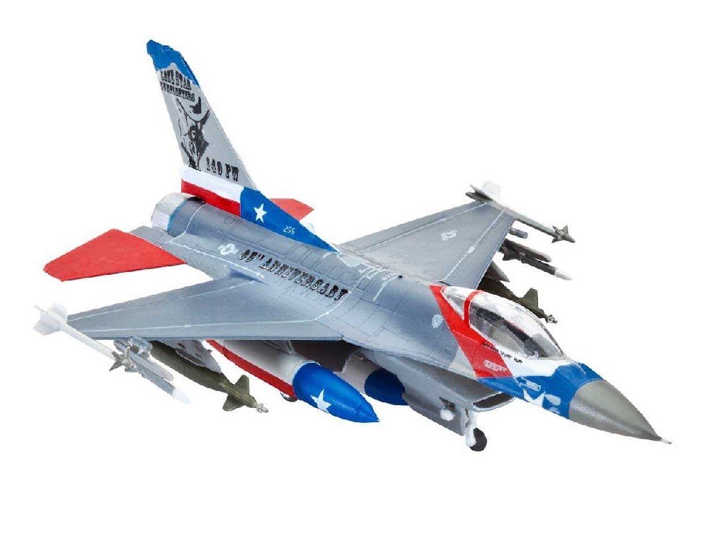 1/144 Plastikový model - lietadlo 03992 - Lockheed Martin F-16C Fighting Falcon