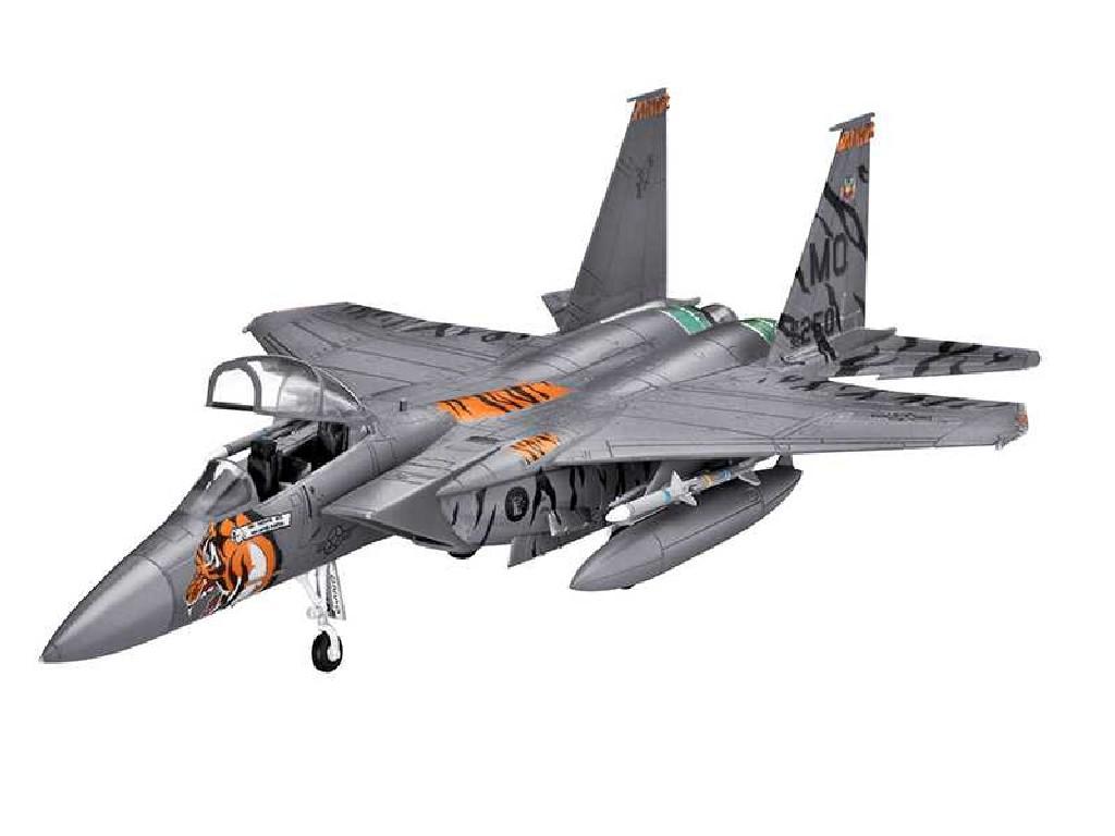1/144 Plastikový model - lietadlo 03996 - F-15 E Eagle