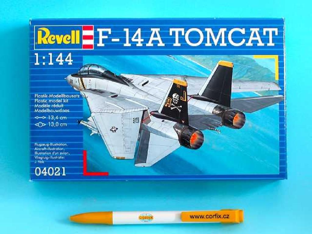 1/144 Plastikový model - lietadlo 04021 - F-14A Tomcat