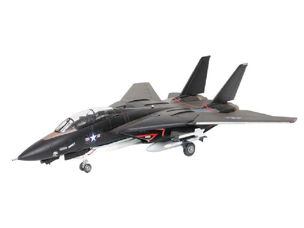 1/144 Plastikový model - lietadlo 04029 - F14A Tomcat Black Bunny