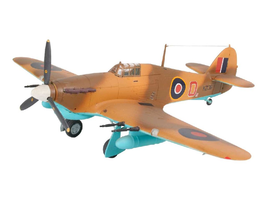 1/72 Plastikový model - lietadlo 04144 - Hawker Hurricane Mk.IIC