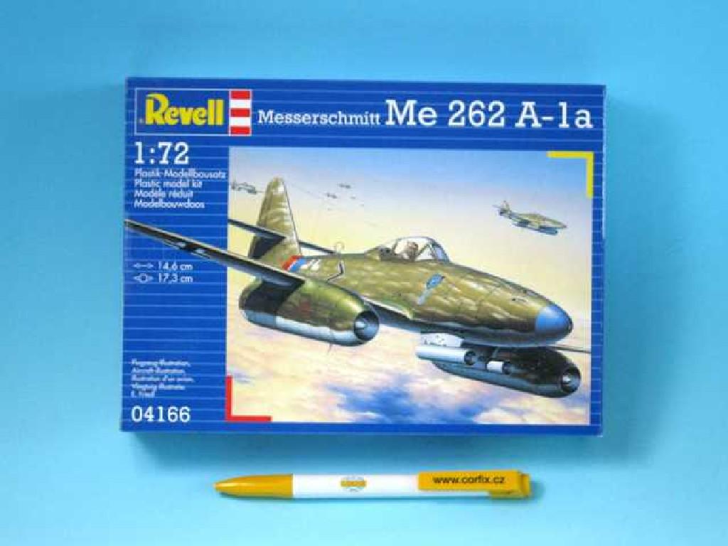 1/72 Plastikový model - lietadlo 04166 - Messerschmitt Me 262 A-la