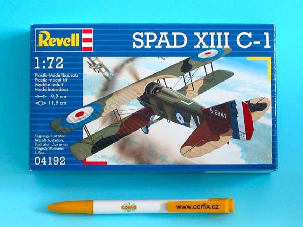 1/72 Plastikový model - letadlo 04192 - Spad XIII C-1