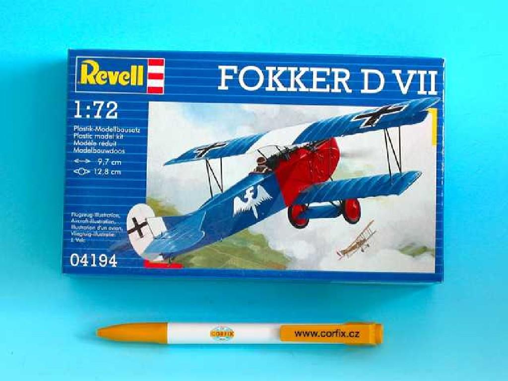1/72 Plastikový model - letadlo 04194 - Fokker D VII
