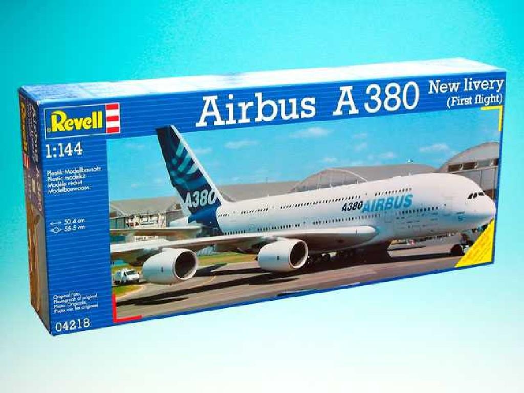 1/144 Plastikový model - letadlo 04218 - Airbus A380 New Livery