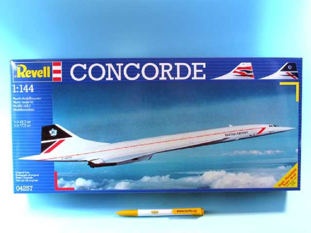1/144 Plastikový model - letadlo 04257 - Concorde British Airways