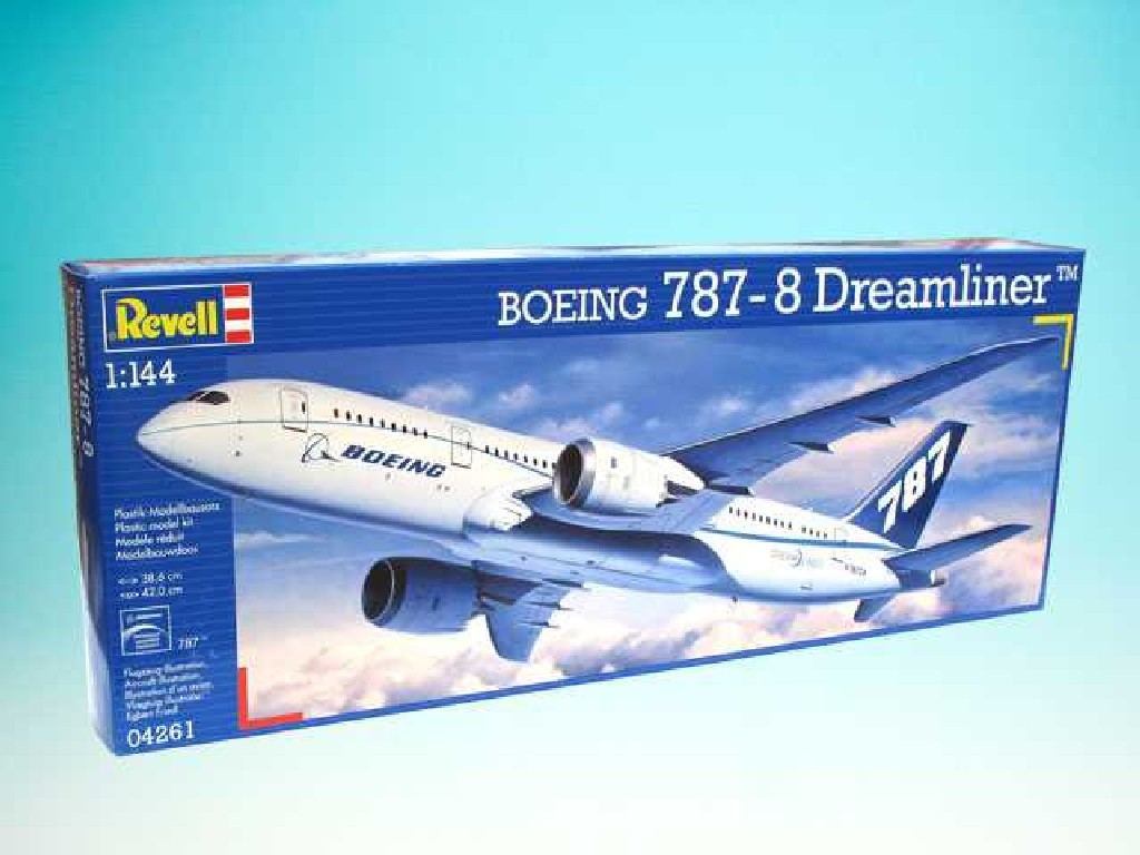 1/144 Plastikový model - letadlo 04261 - Boeing 787 Dreamliner