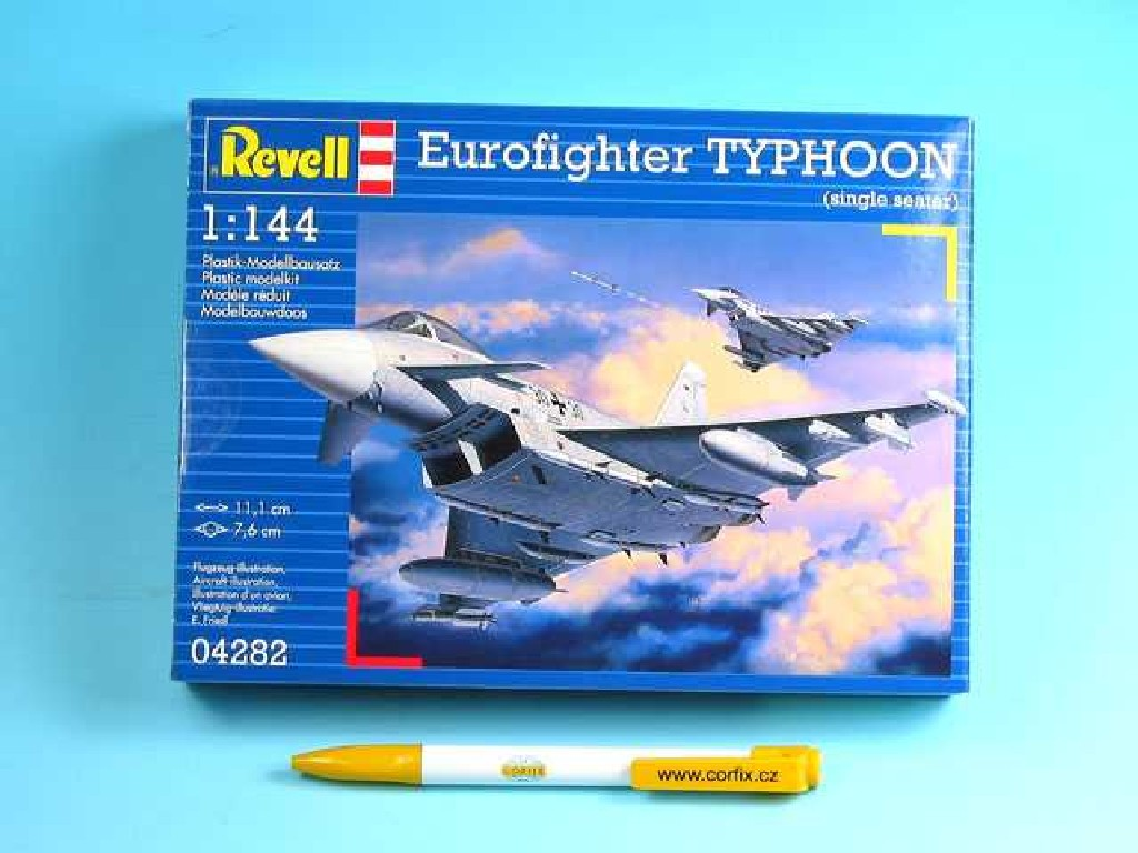 1/144 Plastikový model - lietadlo 04282 - Eurofighter TYPHOON