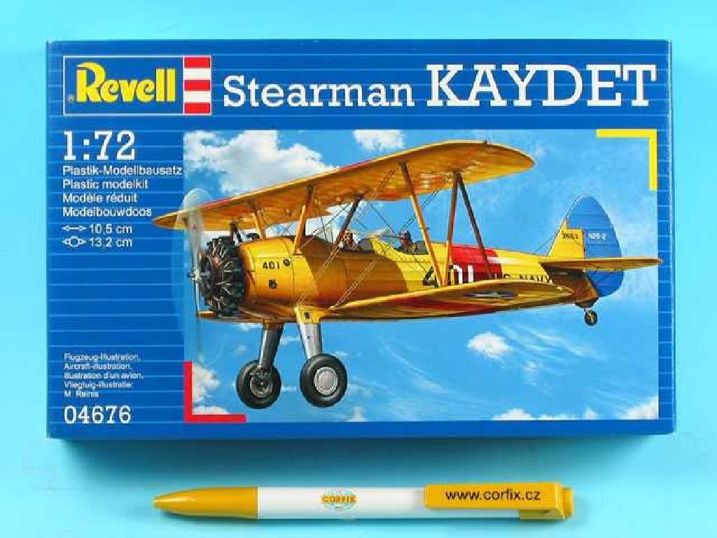1/72 Plastikový model - letadlo 04676 - Stearman KAYDET