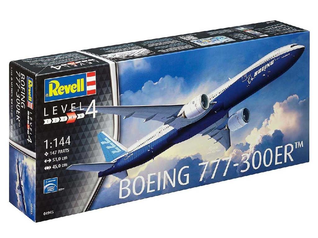 1/144 Plastikový model - letadlo 04945 - Boeing 777 - 300 ER