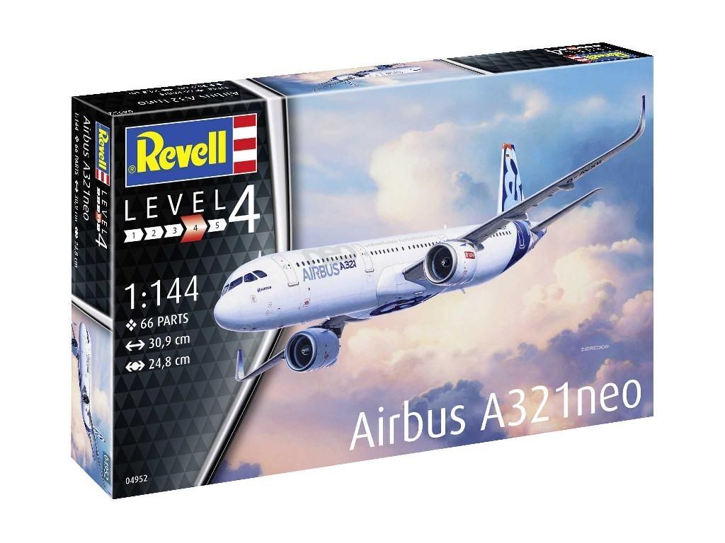 1/144 Plastic ModelKit letadlo 04952 - Airbus A321 Neo