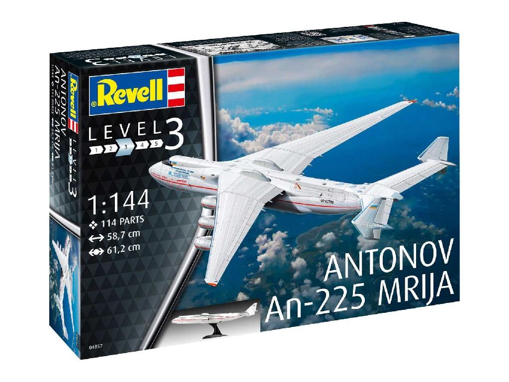 1/144 Plastikový model - letadlo 04957 - Antonov AN-225 Mrija