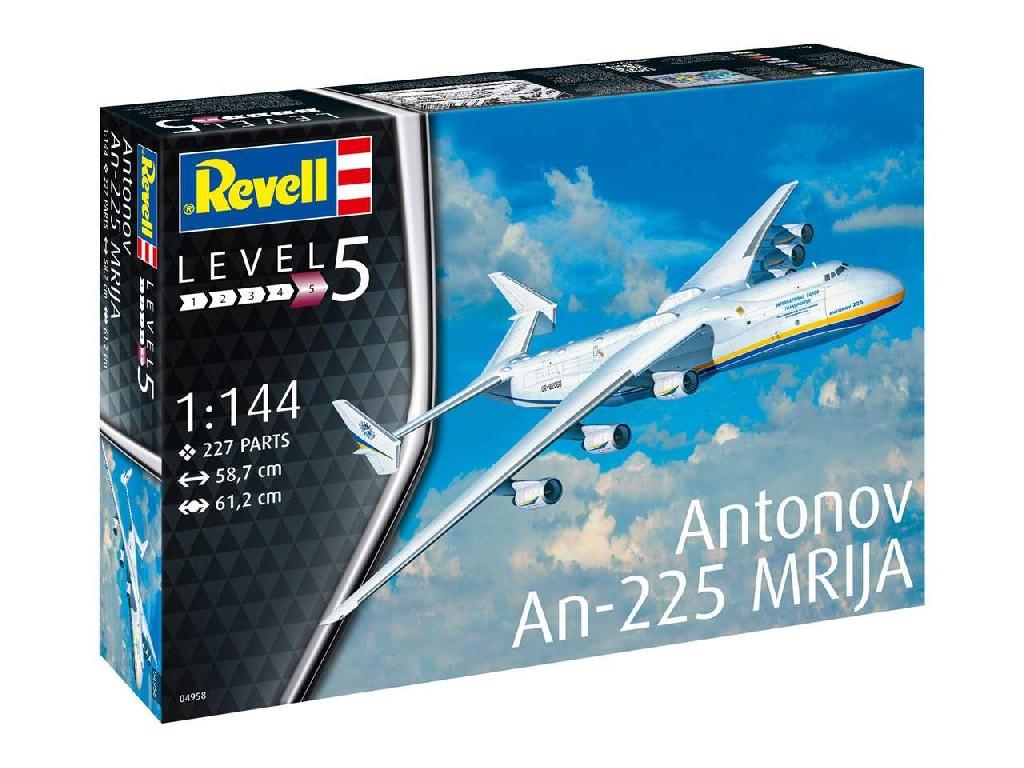1/144 Plastikový model - letadlo 04958 - Antonov An-225 Mrija