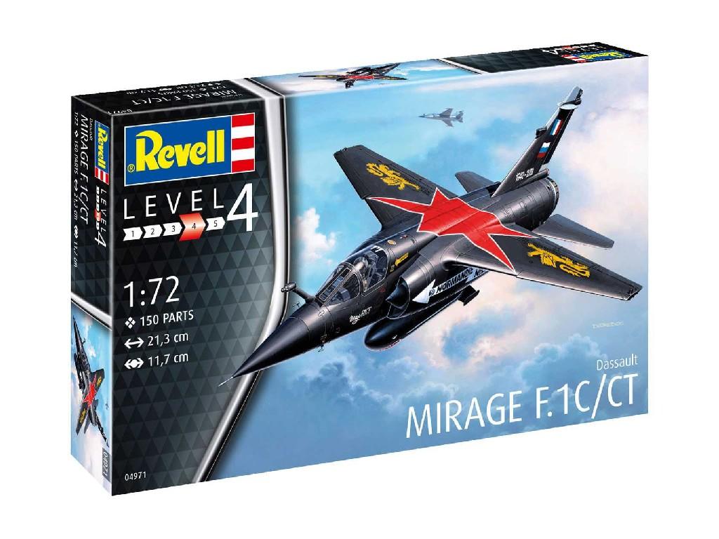 1/72 Plastikový model - letadlo 04971 - Mirage F.1C/CT