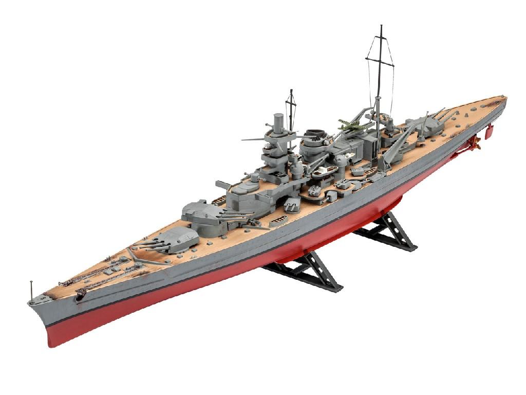 1/570 Plastikový model - loď 05037 - Scharnhorst