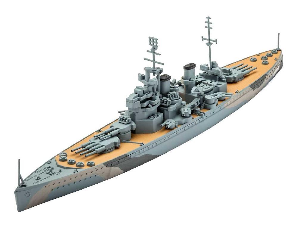 1/1200 Plastikový model - loď 05135 - H.M.S. Prince of Wales