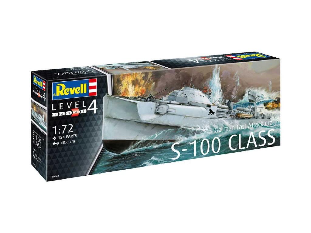 1/72 Plastikový model - loď 05162 - German Fast Attack Craft S-100 CLASS
