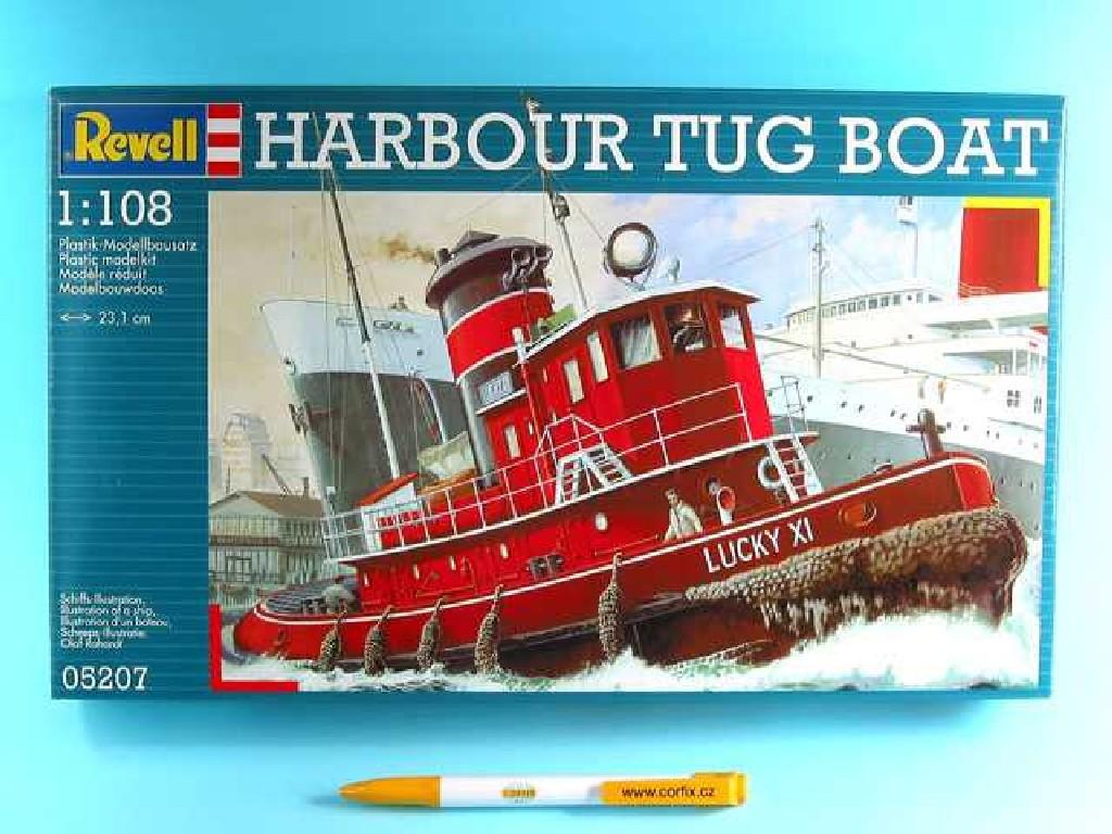 1/108 Plastikový model - loď 05207 - Harbour Tug Boat