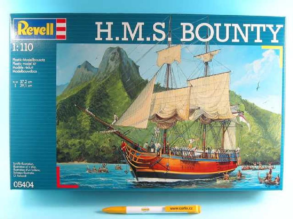 1/110 Plastikový model - loď 05404 - H.M.S. Bounty