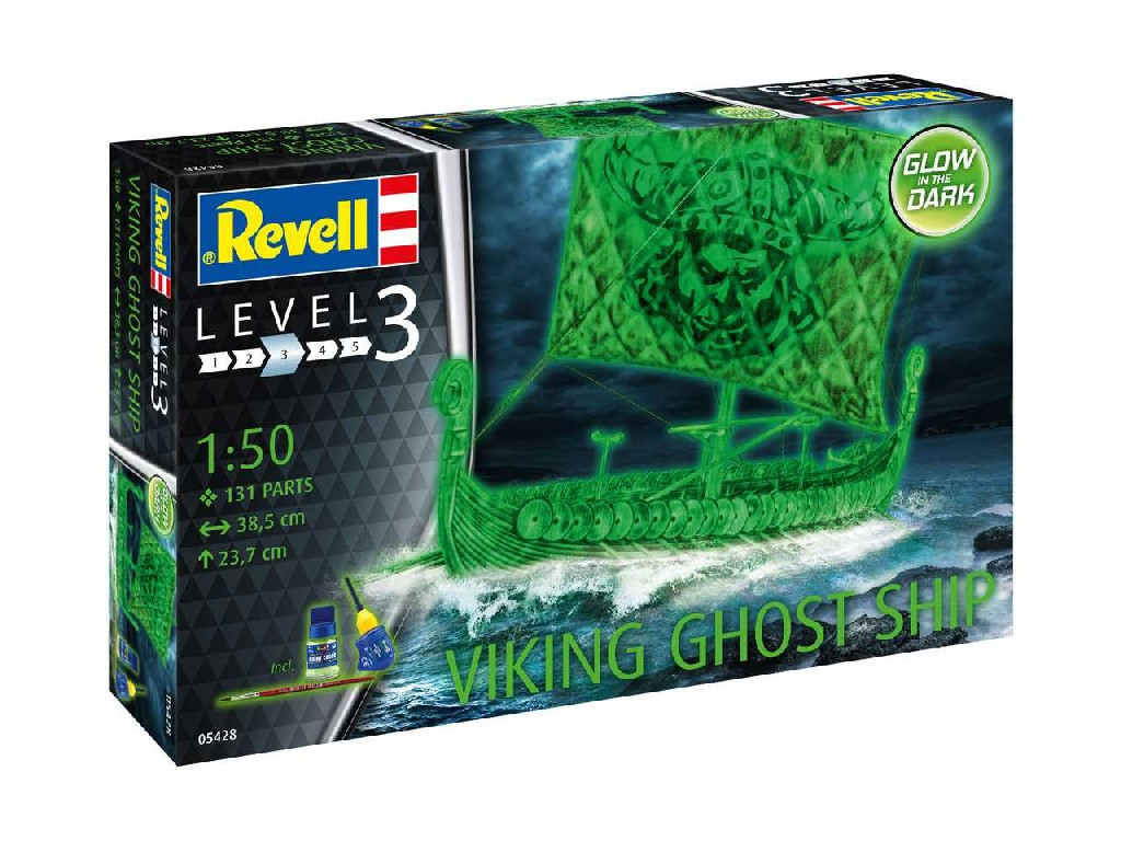 1/50 Plastikový model - loď 05428 - Viking Ghost Ship