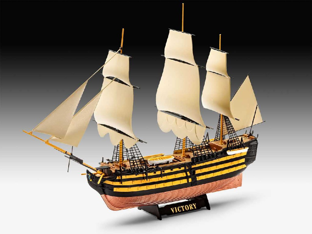 1/450 Plastikový model - loď 05819 - HMS Victory