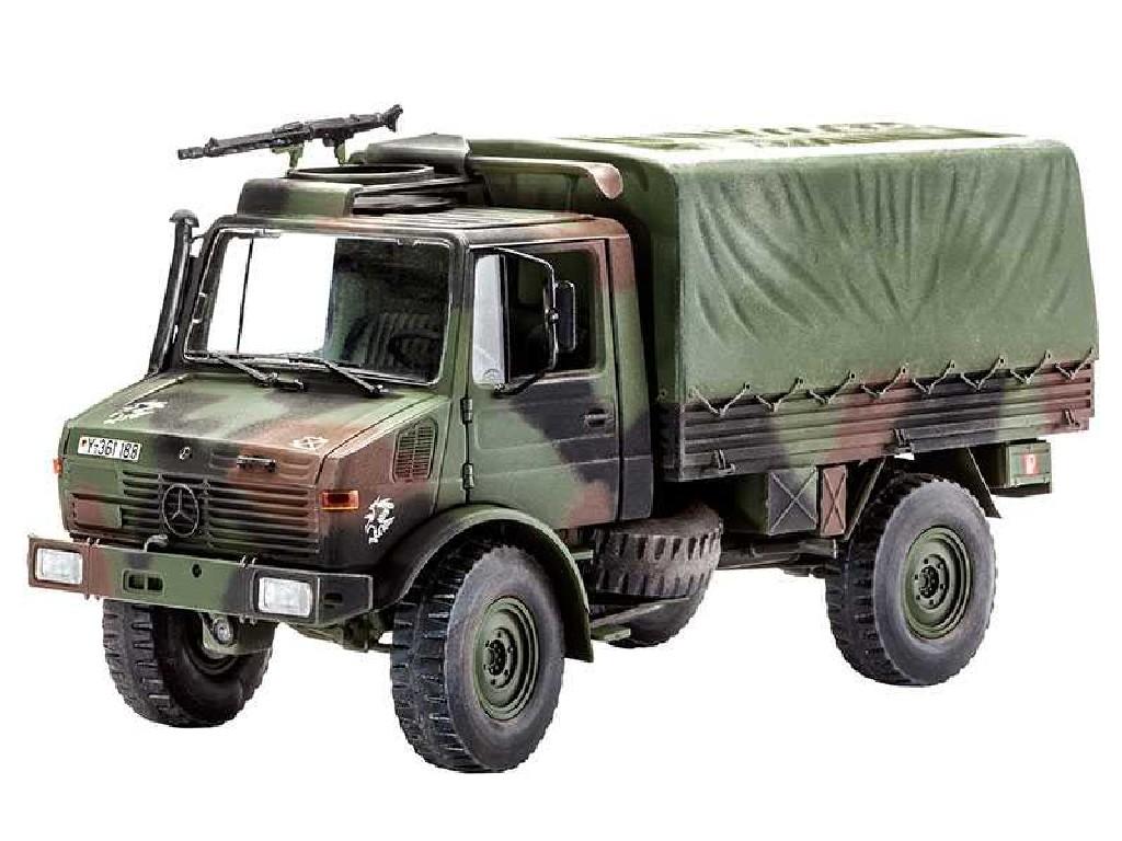1/35 Plastikový model - military 03082 - Unimog (Lkw 2t tmilgl)
