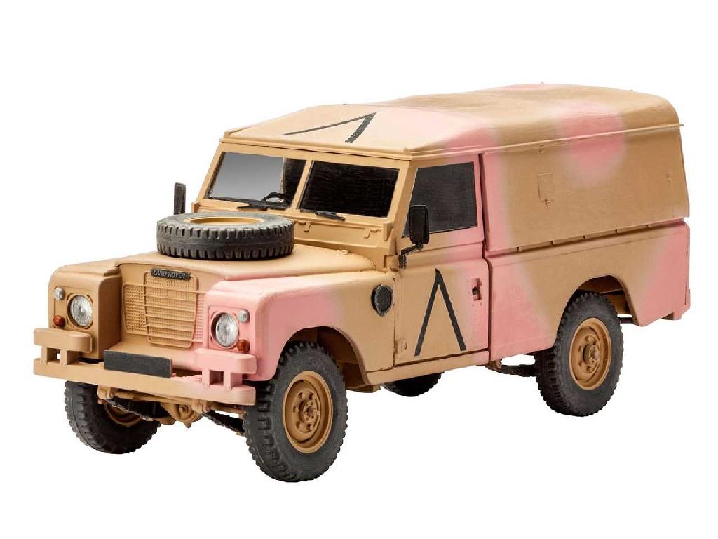 "1/35 Plastikový model - military 03246 - British 4x4 Off-Road Vehicle109 (Series III)"""