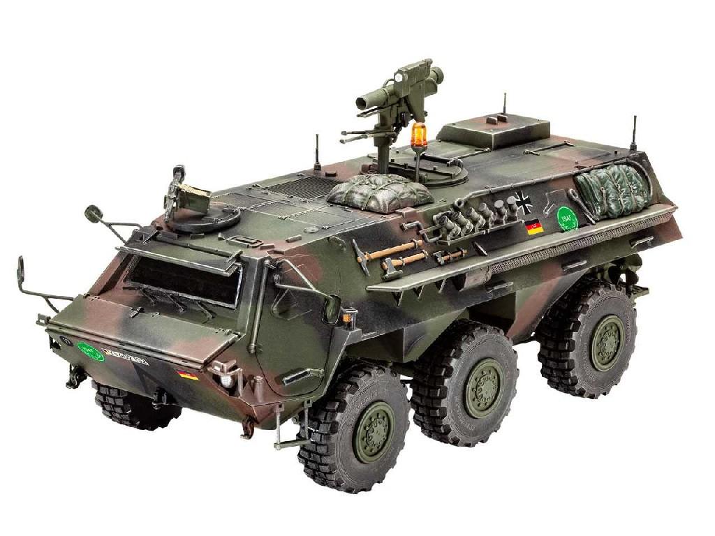 1/35 Plastikový model - military 03256 - TPz 1 Fuchs