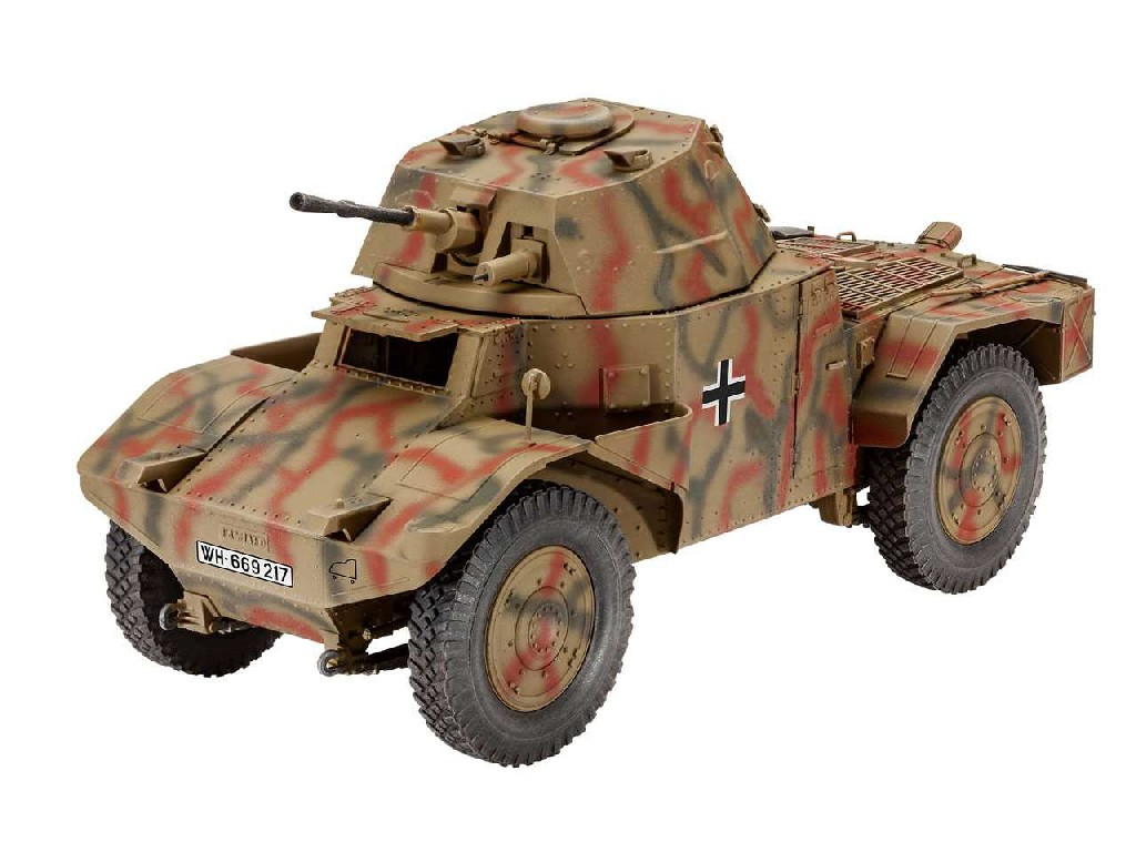 1/35 Plastic ModelKit military 03259 - Armoured Scout Vehicle P 204 (f)