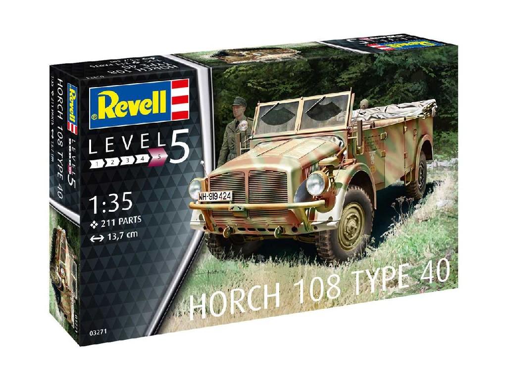 1/35 Plastikový model - military 03271 - Horch 108 Type 40