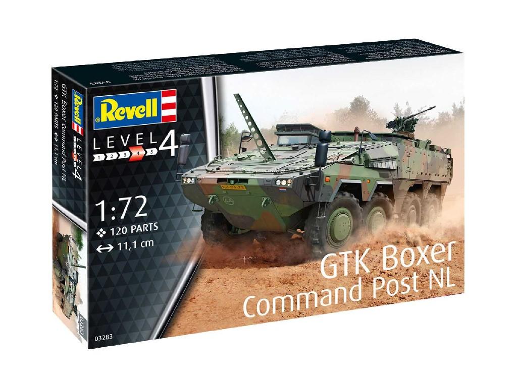 1/72 Plastikový model - military 03283 - GTK Boxer Command Post NL
