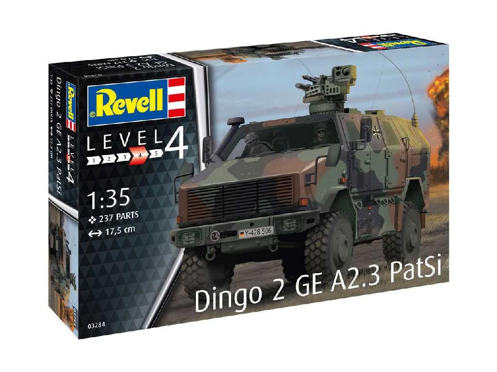 1/35 Plastikový model - military 03284 - Dingo 2 GE A2.3 PatSi