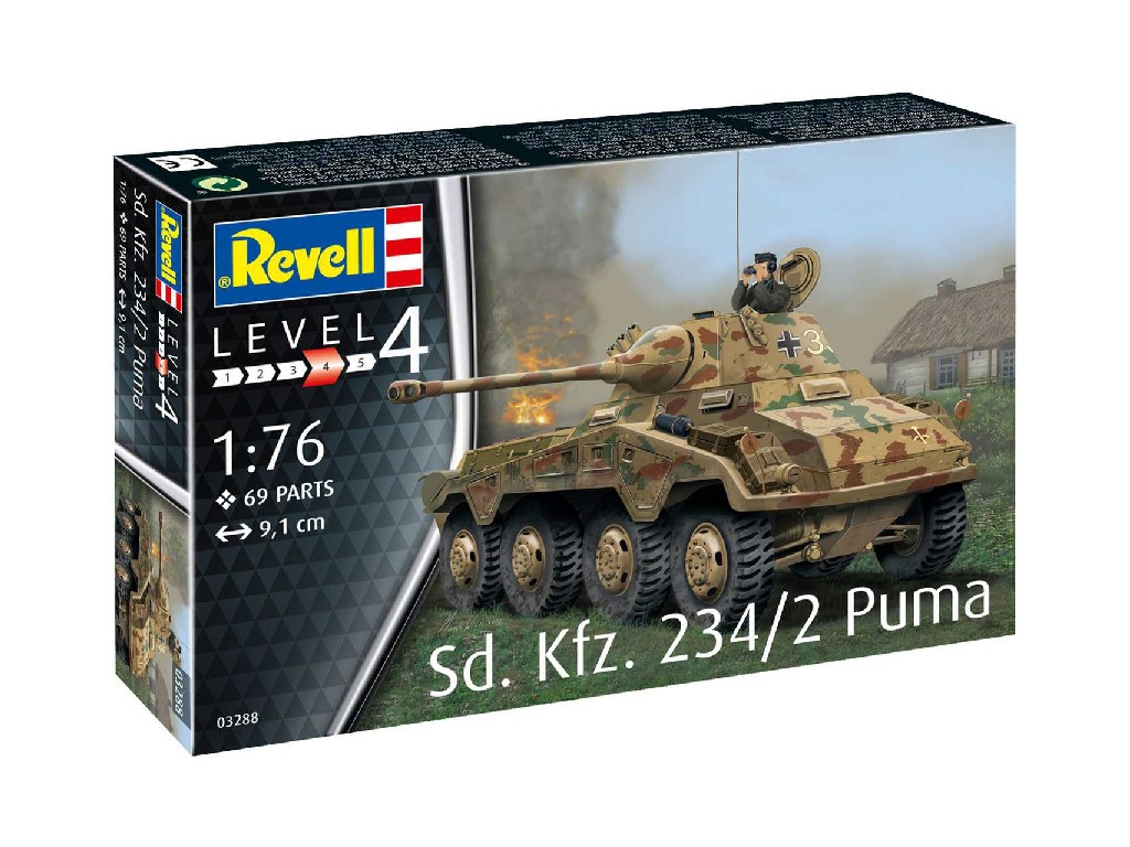 1/76 Sd. Kfz. 234/2 Puma