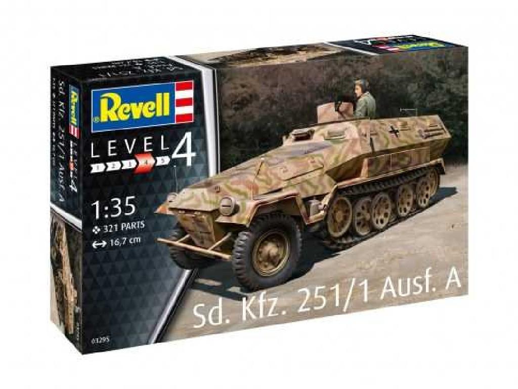 1/35 Plastikový model - military 03295 - Sd.Kfz. 251/1 Ausf.A