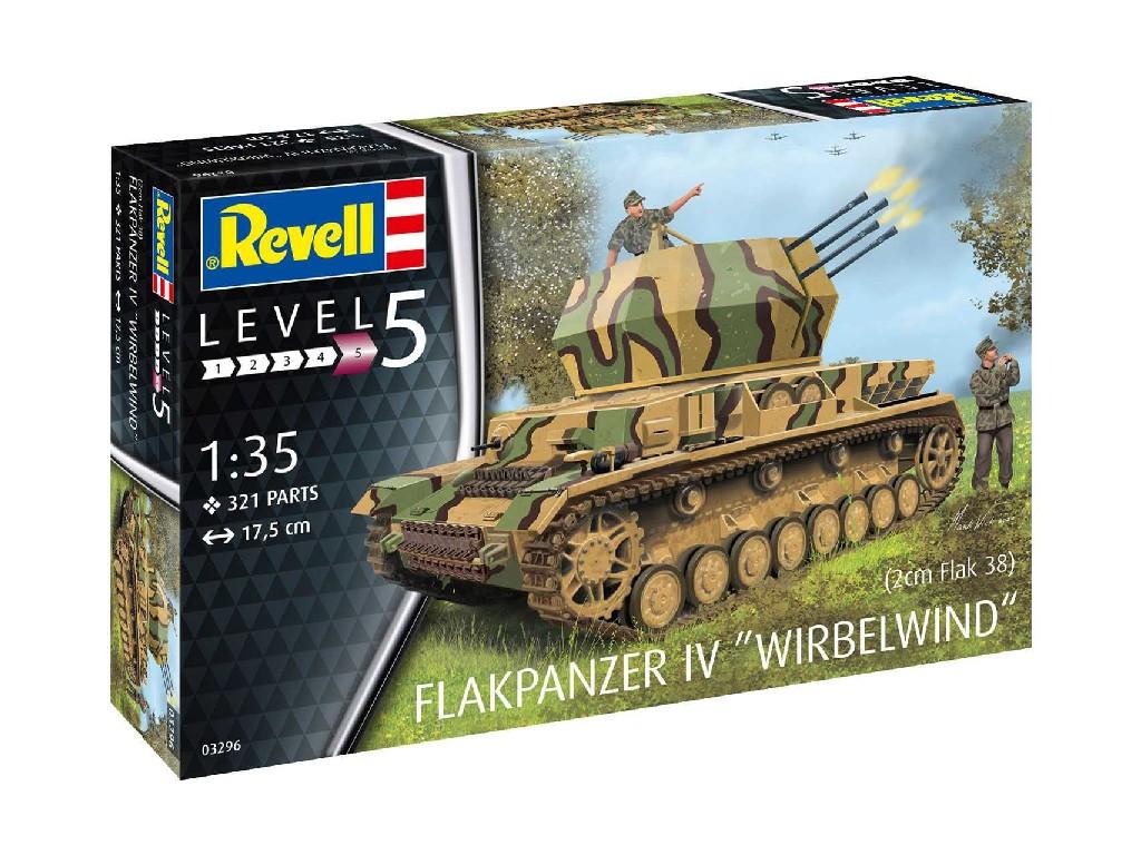 1/35 Plastic ModelKit military 03296 - Flakpanzer IV Wirbelwind