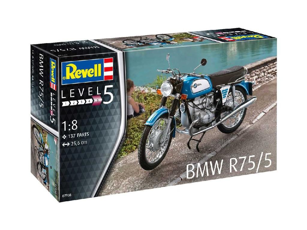 1/8 Plastikový model - motorka 07938 - BMW R75/5