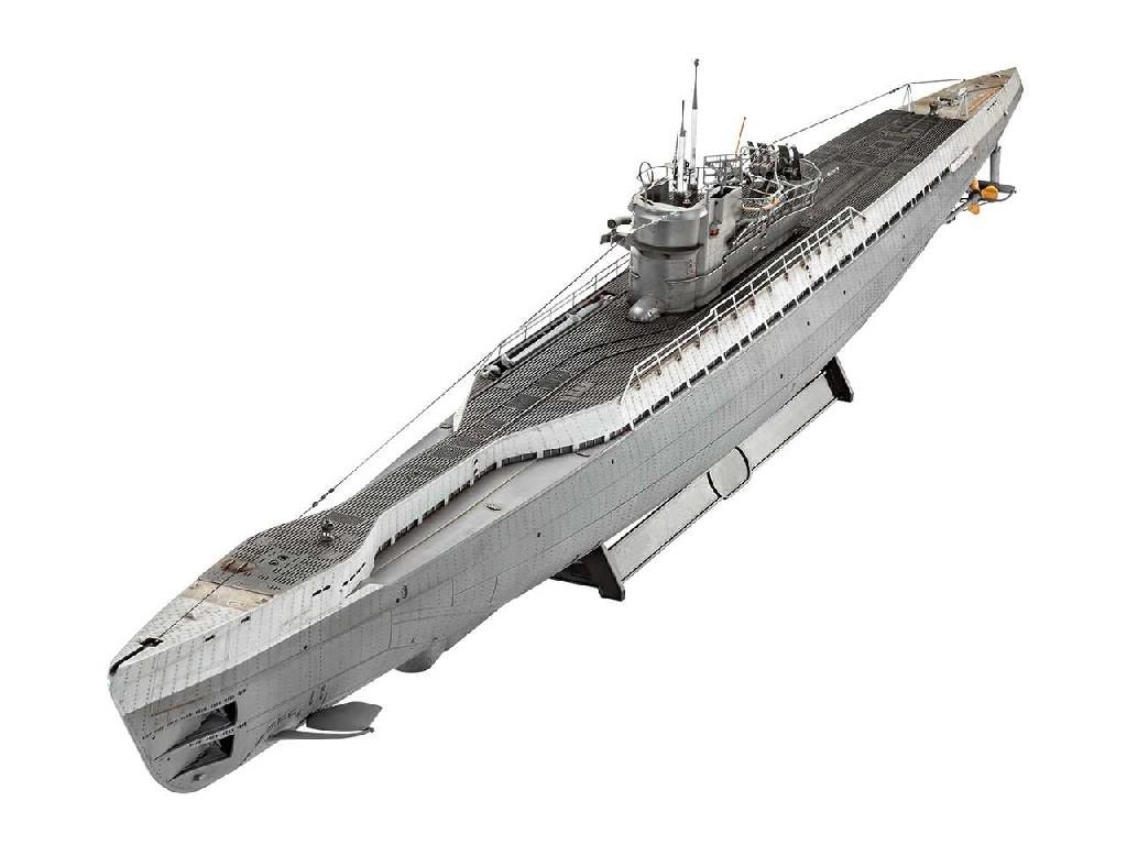 1/72 Plastikový model - ponorka 05133 - German Submarine Type IX C/40